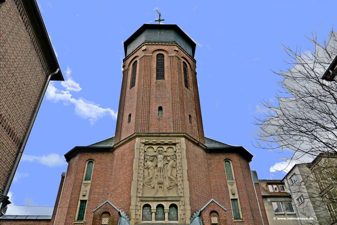 Weihnachtskrippe Dortmund kath. Kirche Sankt Michael